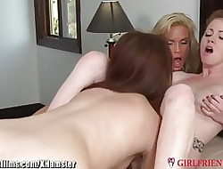 Diamond Foxxx with an increment of Young Lebians 3Way