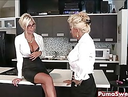 Puma Swede & Bobbi are be imparted to murder Fruity Berth Slut!