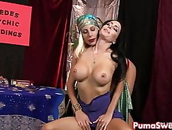 Hot Astrologer Puma Swede Fucks The brush Hot Client!