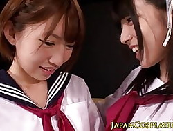Japanese schoolgirl squirting space fully fingered