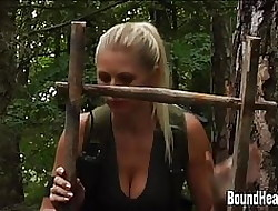 One Young Girls Beside A Depending Huntswoman All round Extreme Digs