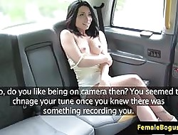 British cabbie les fingered with the addition of toesucked