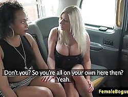 Prexy unmasculine cabbie pussylicked apart from swart brit