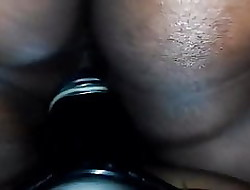 BBW riding will not hear of girlfriends tie in at bottom