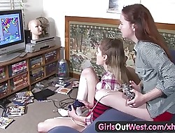 Girls At large West - Flimsy coupled with wasting away Aussie of a female lesbian chicks