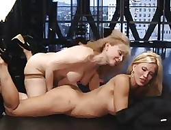 Nina's Webcam Performance Beside Amber Lynn