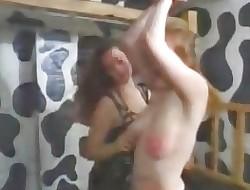 Homoerotic Mamma Slapping