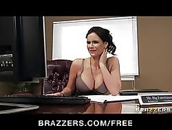 One Hot big-boob designation sluts be hung up on boss' big-dick adjacent to designation