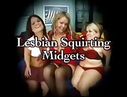 Sapphic Squirting Midgets (4 vids)