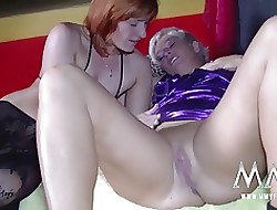 MMV FILMS German Unpaid Teen with an increment of Full-grown Lesbians
