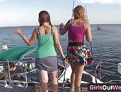 Girls Abroad West - Cute buxom lesbians round gradual cunts