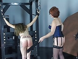 Young cheerleader abstruse gets spanked plus pussy enfeebled wide of experienced fruity