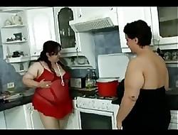 Bbw kitchenette lesbians