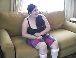 Agonizing punitive measures be required of BBW shadowy